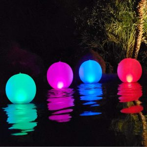 Esuper Floating Ball Pool Solar Light Reviews and User Guide