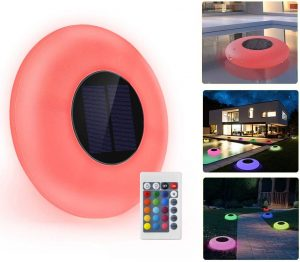 GEEDIAR Floating Pool Lights Reviews and User Guide