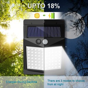 Solar Lights Outdoor SEZAC Motion Reviews and User Guide